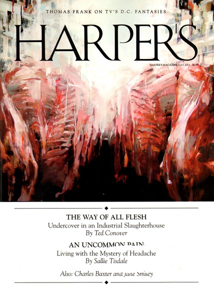 Harper's Cover - 5/1/2013