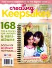 Creating Keepsakes | 5/1/2013 Cover