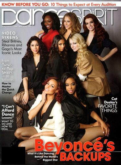 Dance Spirit Cover - 5/1/2013