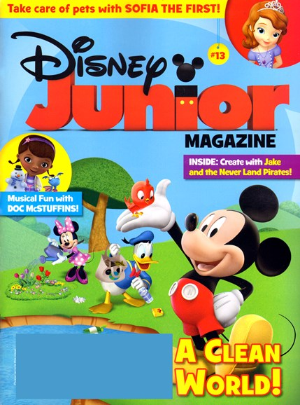 Disney Junior Cover - 5/1/2013