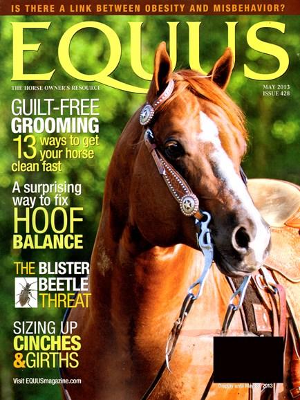 Equus Cover - 5/1/2013