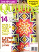 Fons & Porter's Love of Quilting 5/1/2013