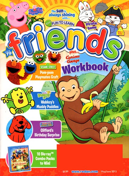 Preschool Friends Cover - 5/1/2013