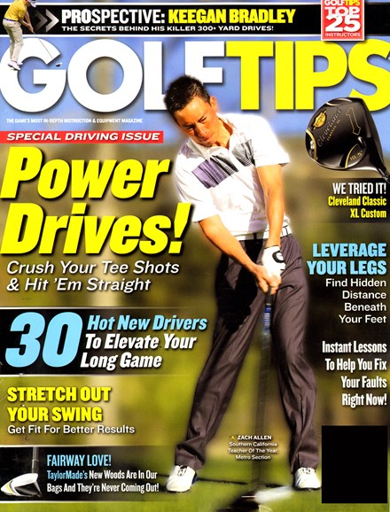 Golf Tips Cover - 5/1/2013