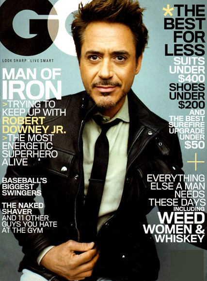 Gentlemen's Quarterly - GQ Cover - 5/1/2013