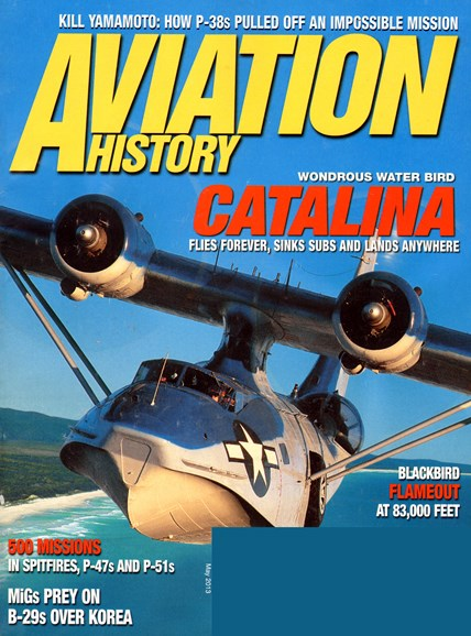 Aviation History Cover - 5/1/2013