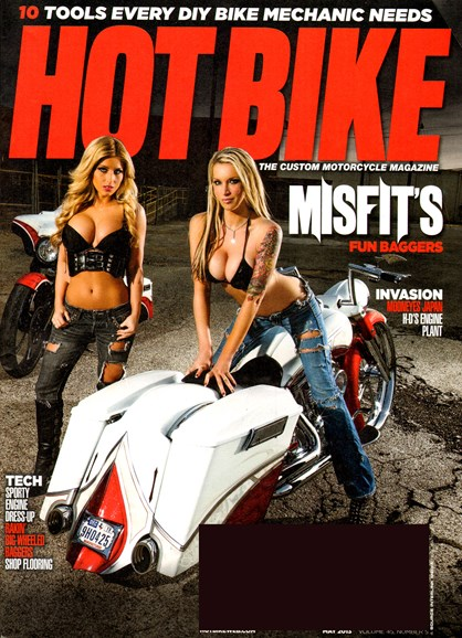 Hot Bike Cover - 5/1/2013