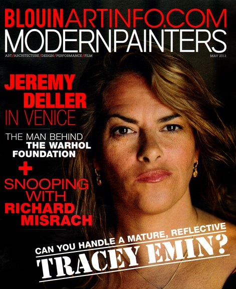 Blouin Modern Painters Cover - 5/1/2013