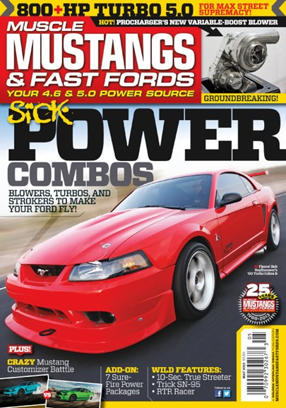 Muscle Mustangs & Fast Fords Cover - 5/1/2013