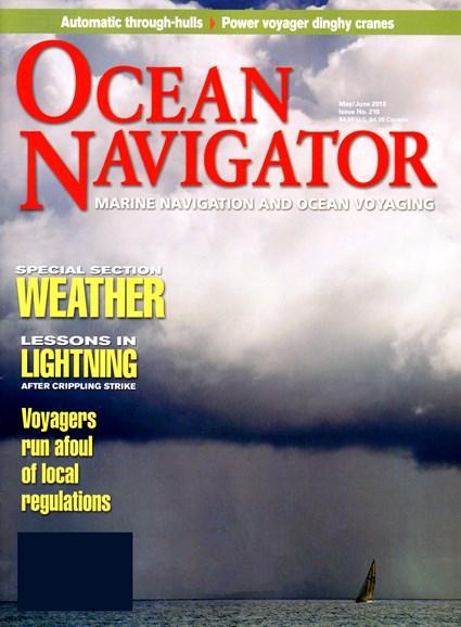 Ocean Navigator Cover - 5/1/2013