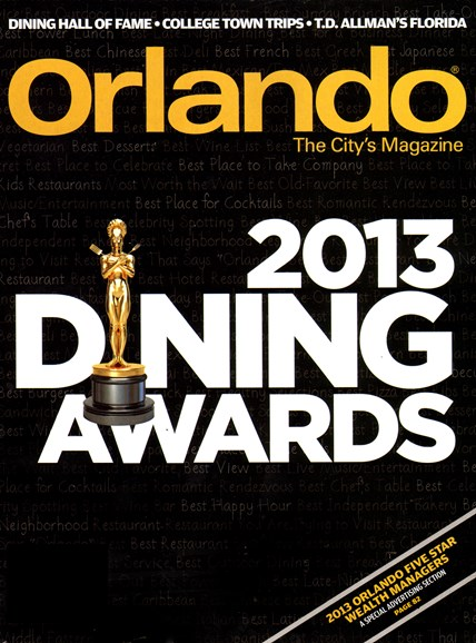 Orlando Magazine Cover - 5/1/2013