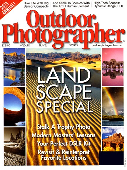 Outdoor Photographer Cover - 5/1/2013