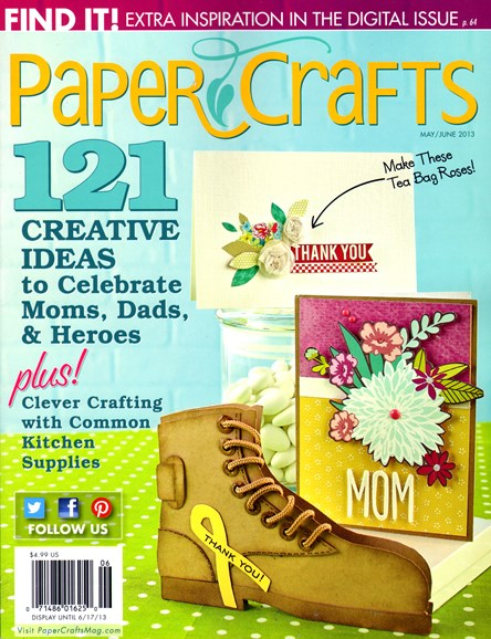 Paper Crafts Cover - 5/1/2013
