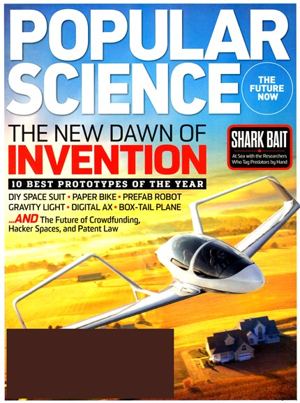 Popular Science Cover - 5/1/2013