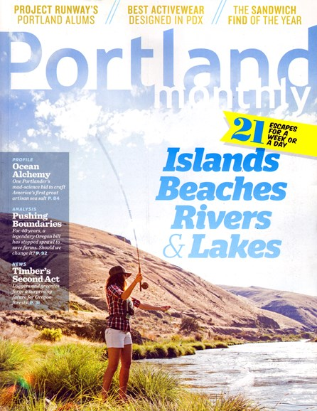 Portland Monthly Cover - 5/1/2013