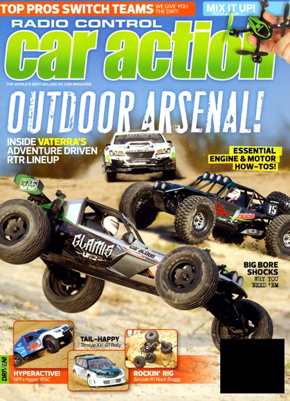 Radio Control Car Action Cover - 5/1/2013