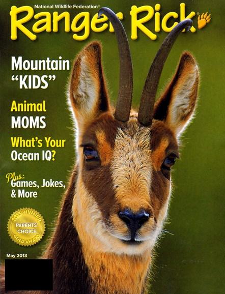 Ranger Rick Cover - 5/1/2013