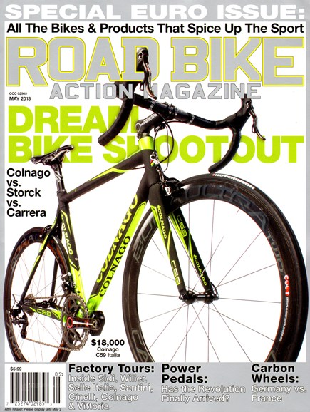 Road Bike Action Cover - 5/1/2013