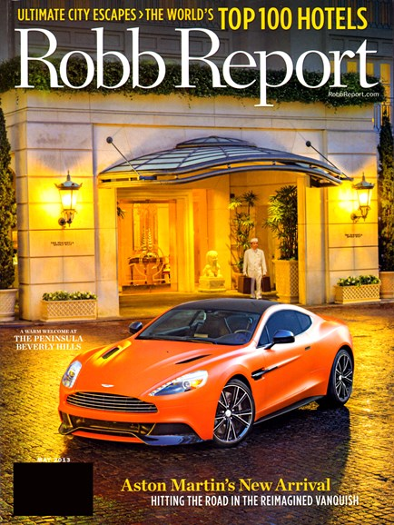 Robb Report Cover - 5/15/2013