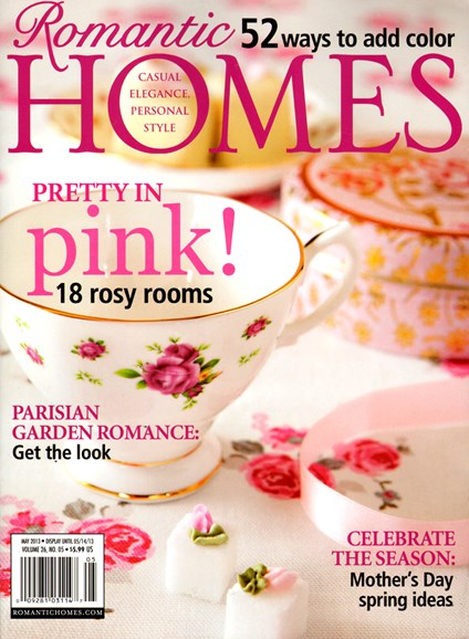 Romantic Homes Cover - 5/1/2013