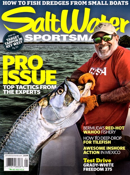 Salt Water Sportsman Cover - 5/1/2013