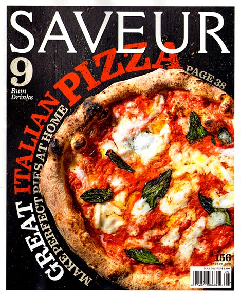 Saveur Cover - 5/1/2013