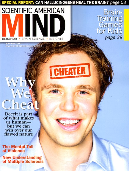 Scientific American Mind Cover - 5/1/2013
