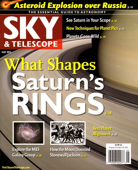 Sky & Telescope Cover - 5/1/2013