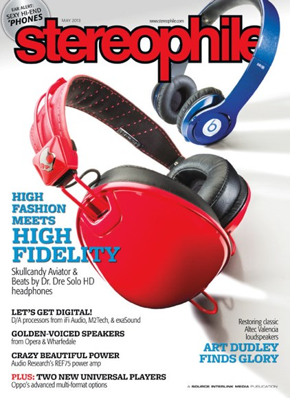 Stereophile Cover - 5/1/2013