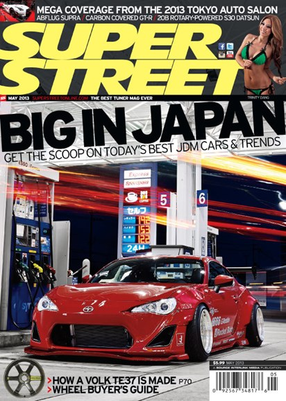 Super Street Cover - 5/1/2013