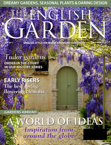 The English Garden Cover - 5/1/2013