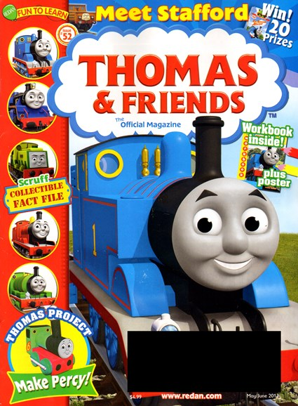 Thomas & Friends Cover - 5/1/2013