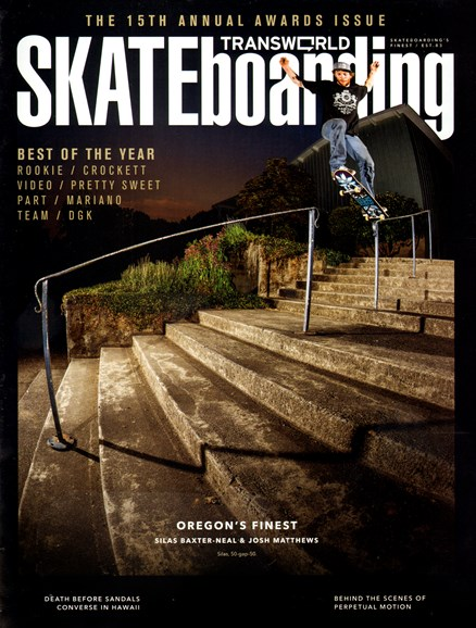 Transworld SKATEboarding Cover - 5/1/2013