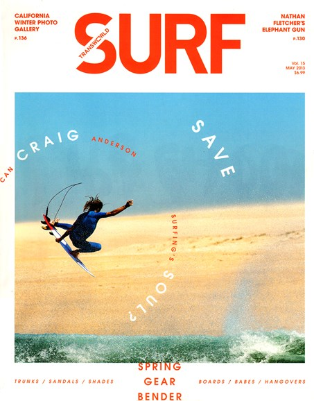 Transworld SURF Cover - 5/1/2013