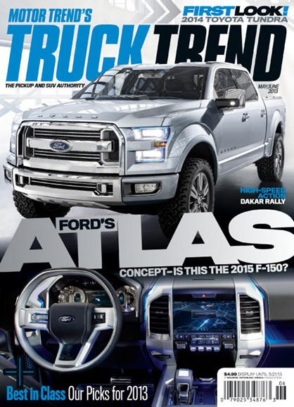 Truck Trend Cover - 5/1/2013