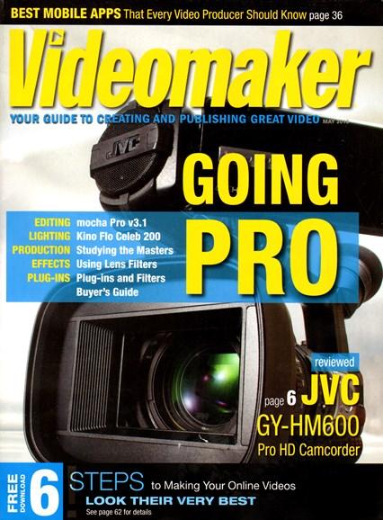 Videomaker Cover - 5/1/2013