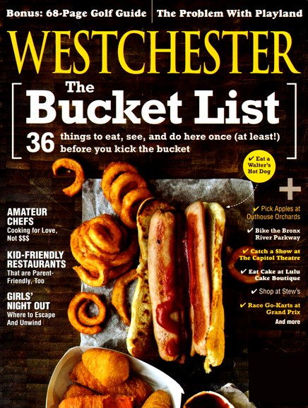Westchester Magazine Cover - 5/1/2013