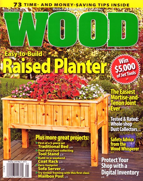 Wood Cover - 5/1/2013