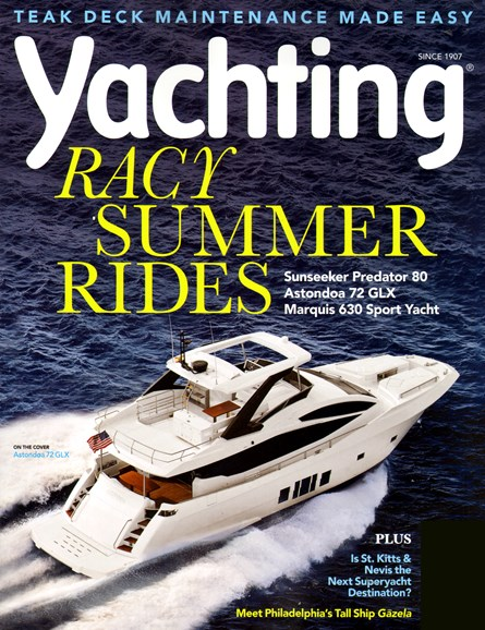 Yachting Cover - 5/1/2013