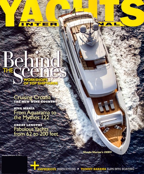 Yachts International Cover - 5/1/2013