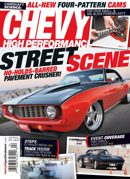 Chevy High Performance Cover - 4/1/2013