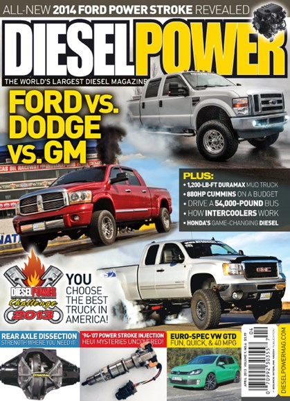 Diesel Power Cover - 4/1/2013