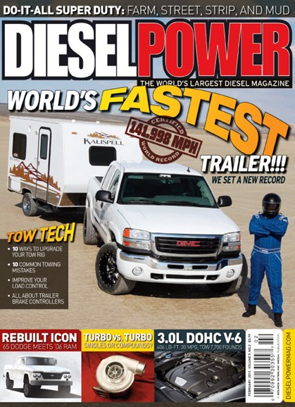 Diesel Power Cover - 2/1/2013