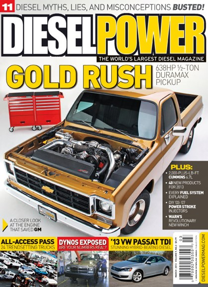 Diesel Power Cover - 3/1/2013