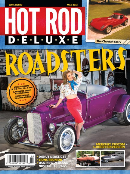 Hot Rod Deluxe Cover - 4/1/2013