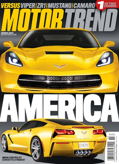 Motor Trend Cover - 3/1/2013