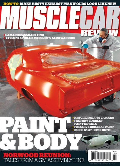 Muscle Car Review Cover - 4/1/2013