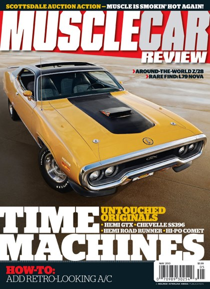 Muscle Car Review Cover - 5/1/2013