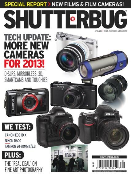 Shutterbug Cover - 4/1/2013