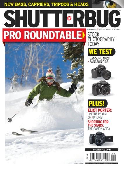 Shutterbug Cover - 2/1/2013